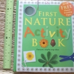 First Nature Activity Book (With FREE Flower Pressing Paper)