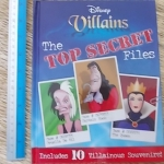 (Disney) Villains: The Top Secret Files (Includes 10 Villainous Souvenirs)