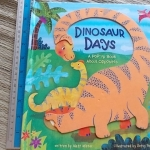 Dinosaur Days (Board Book) Written By Matt Mitter