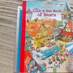 The Look & See Book of Bears (Board Book)