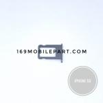 ถาดซิมไอโฟน 5s สีดำ