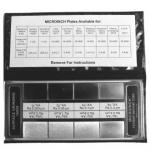 แผ่นสอบเทียบความเรียบผิว พร้อมส่ง (surface roughness comparator) รุ่น 16009