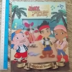 (Disney) JAKE Neverland Pirates/ Magical Story ปกเลื่อมไดคัท