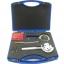 ชุดทดสอบการยึดเกาะสี (Film cross-cut device) แบบ Rotary 3 ใบมีด,QFH-A Rotary Type Film Adhesion Tester Paint Film Scriber 3-in-1 Rotating Cross Hatch Adhesion Tester Cross Cutter Cross-Cut Tester Kit with 1mm/2mm/3mm blades thumbnail 4