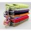 ถุงผ้ากำมะหยี่ 2 ช่อง ใส่มือถือหรือแบตสำรอง ขนาด 5.0 นิ้ว 10*16 ซม. (สีเขียว) thumbnail 4
