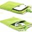 ถุงผ้ากำมะหยี่ 2 ช่อง ใส่มือถือหรือแบตสำรอง ขนาด 5.0 นิ้ว 10*16 ซม. (สีเขียว) thumbnail 8
