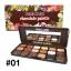 Sivanna Colors Chocolate Palette ตลับสี น้ำตาล 01 thumbnail 1