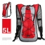 V Luggages กระเป๋าแฟชั่นสะพายหลัง 45.5 x 22.5 x 5 cm.VLF-005 ( สีแดง) thumbnail 1