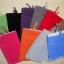 ถุงผ้ากำมะหยี่ 2 ช่อง ใส่มือถือหรือแบตสำรอง ขนาด 5.0 นิ้ว 10*16 ซม. (สีชมพู) thumbnail 2