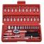 46pcs/set Wrench Socket Set Professional Hardware Car Boat Motorcycle Repairing Tools Kit Multitool Hand Tools Car-Styling thumbnail 1