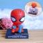 โมเดลหัวโยกสำหรับวางมือถือ ลาย Spiderman thumbnail 1