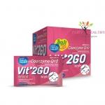 HandyHealth Vit'2GO Coenzyme Q10 โคเอ็นไซม์ คิวเท็น 1 กล่อง 12 ซอง ราคา 240 บาท ส่งฟรี