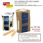 T65 CAMPAILLETTE DES CHAMPS (French Bread Flour) // แป้งขนมปังฝรั่งเศส T65 ขนาด 25 kg