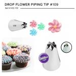 Wilton หัวบีบ 109 DROP FLOWER PIPING TIP (402-109)