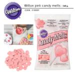 Wilton pink candy melts 340 g.
