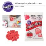 Wilton red candy melts 340 g.