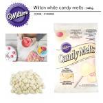Wilton white candy melts 340 g.
