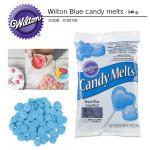 Wilton blue candy melts 340 g.