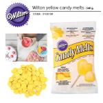 Wilton yellow candy melts 340 g.