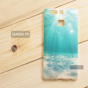 เคส Huawei P9 เคสนิ่ม TPU พิมพ์ลาย แบบที่ 2