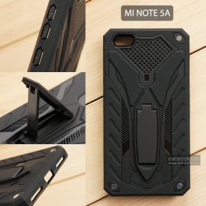 เคส Xiaomi Redmi Note 5A เคสบั๊มเปอร์ กันกระแทก Defender 2 ชั้น (พร้อมขาตั้ง) สีดำ (แบบที่ 2)