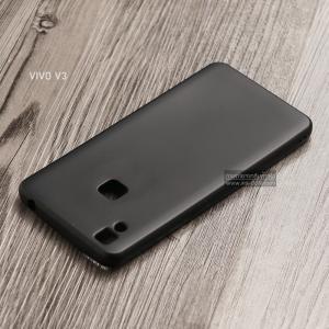 เคส Vivo V3 เคสนิ่ม TPU สีเรียบ สีดำ