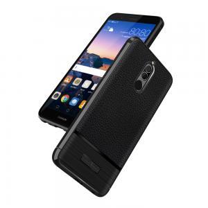 เคส Nokia 7 Plus เคสนิ่ม Hybrid เกรดพรีเมี่ยม ลายหนัง + โลหะขัด