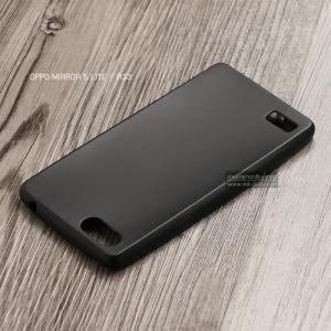 เคส OPPO Mirror 5 Lite / A33 เคสนิ่ม TPU สีเรียบ สีดำ