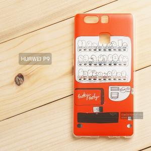 เคส Huawei P9 เคสนิ่ม TPU พิมพ์ลาย แบบที่ 1