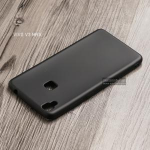 เคส Vivo V3 Max เคสนิ่ม TPU สีเรียบ สีดำ