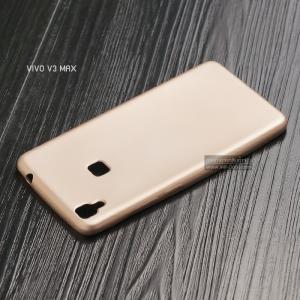 เคส Vivo V3 Max เคสนิ่ม TPU สีเรียบ สีทอง