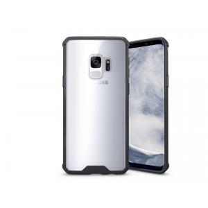 เคส Samsung Galaxy S9 เคส Hybrid ฝาหลังอะคริลิคใส ขอบยางกันกระแทก สีดำ