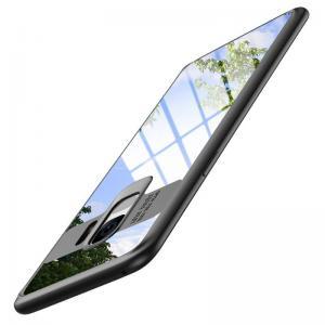 เคส Samsung Galaxy S9 เคส Hybrid ฝาหลังอะคริลิคใส ขอบยางกันกระแทก แบบที่ 2 (ขอบนูนรอบกล้อง) สีดำ