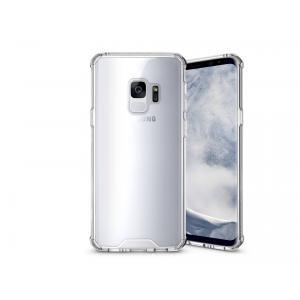 เคส Samsung Galaxy S9 เคส Hybrid ฝาหลังอะคริลิคใส ขอบยางกันกระแทก สีใส