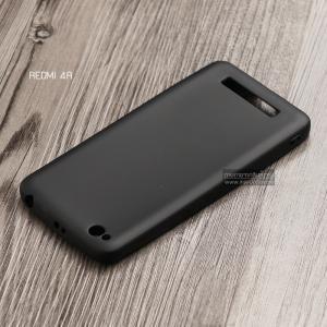 เคส Xiaomi Redmi 4A เคสนิ่ม TPU สีเรียบ สีดำ
