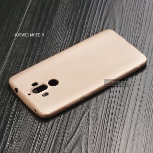 เคส Huawei Mate 9 เคสนิ่ม TPU สีเรียบ สีทอง