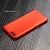 เคส Xiaomi Mi Note 3 เคสนิ่ม TPU สีเรียบ สีแดง