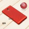 เคส Nokia 3 เคสแข็งสีเรียบ (รูระบายอากาศที่เคส) สีแดง