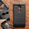 เคส Lenovo K8 Plus เคสนิ่มกันกระแทก เกรดพรีเมี่ยม Texture ลายโลหะขัด ลดรอยนิ้วมือ สีดำ