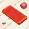 เคส OPPO R9s เคสแข็งสีเรียบ (รูระบายอากาศที่เคส) สีแดง