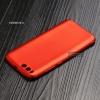 เคส Xiaomi MI 6 เคสนิ่ม TPU สีเรียบ สีแดง