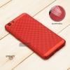 เคส OPPO A71 เคสแข็งสีเรียบ (รูระบายอากาศที่เคส) สีแดง