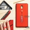 เคส Nokia 3 เคส Hybrid เกรดพรีเมี่ยม 2 ชั้น ขอบยางลดแรงกระแทก พร้อม (ขาตั้ง + สายคล้องนิ้ว) สีแดง