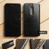 เคส Nokia 5 เคสฝาพับบางพิเศษ พร้อมแผ่นเหล็กป้องกันของมีคม พับเป็นขาตั้งได้ (MOFI) สีดำ