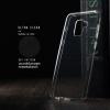 เคส Samsung Galaxy A8 2018 เคสนิ่ม ULTRA CLEAR พร้อมจุดขนาดเล็กป้องกันเคสติดกับตัวเครื่อง สีใส
