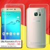 (แพ็คคู่) ฟิล์มกันรอย Samsung Galaxy S6 Edge+ Plus แบบใส (เต็มจอ) วัสดุ TPU (ด้านหน้า - หลัง)