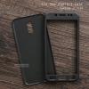 เคส Samsung Galaxy J7 Plus เคสนิ่มด้านหน้า - ด้านหลัง ครอบคลุม 360 องศา สีดำ