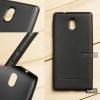 เคส Nokia 3 เคสนิ่ม TPU ลายเคฟล่า สีดำ