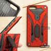 เคส Xiaomi Mi Note 3 เคสบั๊มเปอร์ กันกระแทก Defender 2 ชั้น (พร้อมขาตั้ง) สีแดง (แบบที่ 2)