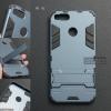 เคส Xiaomi Mi A1 เคสขอบกันกระแทก Defender (พร้อมขาตั้ง) Metallic Blue